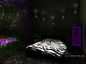 дизайн спальня самара интерьер тольятти проект фото студия дом гардероб
