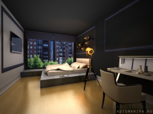 Квартира в Самаре. Спальня