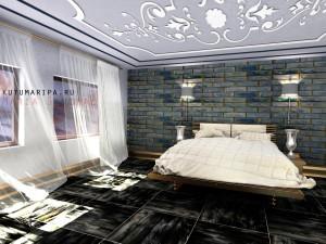 Квартира в Тольятти. Спальня